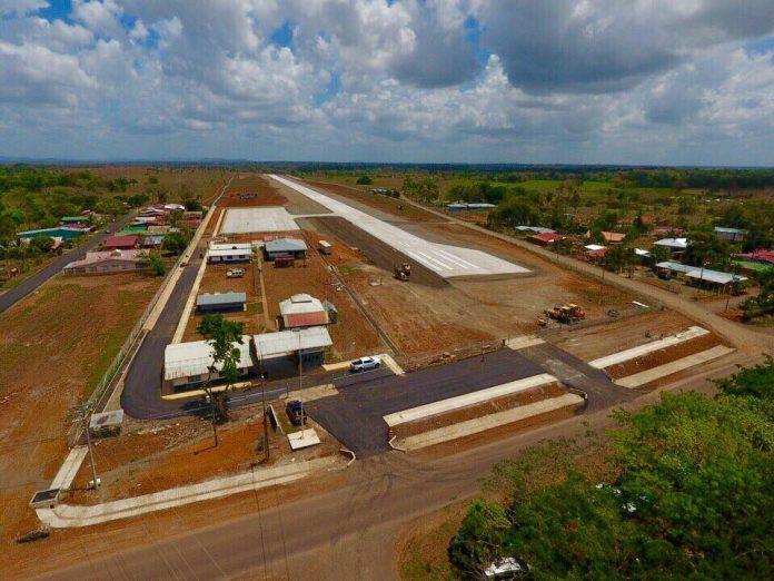 Nuevo aeropuerto de Los Chiles