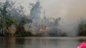 Incendio Reserva Biológica Indio Maíz