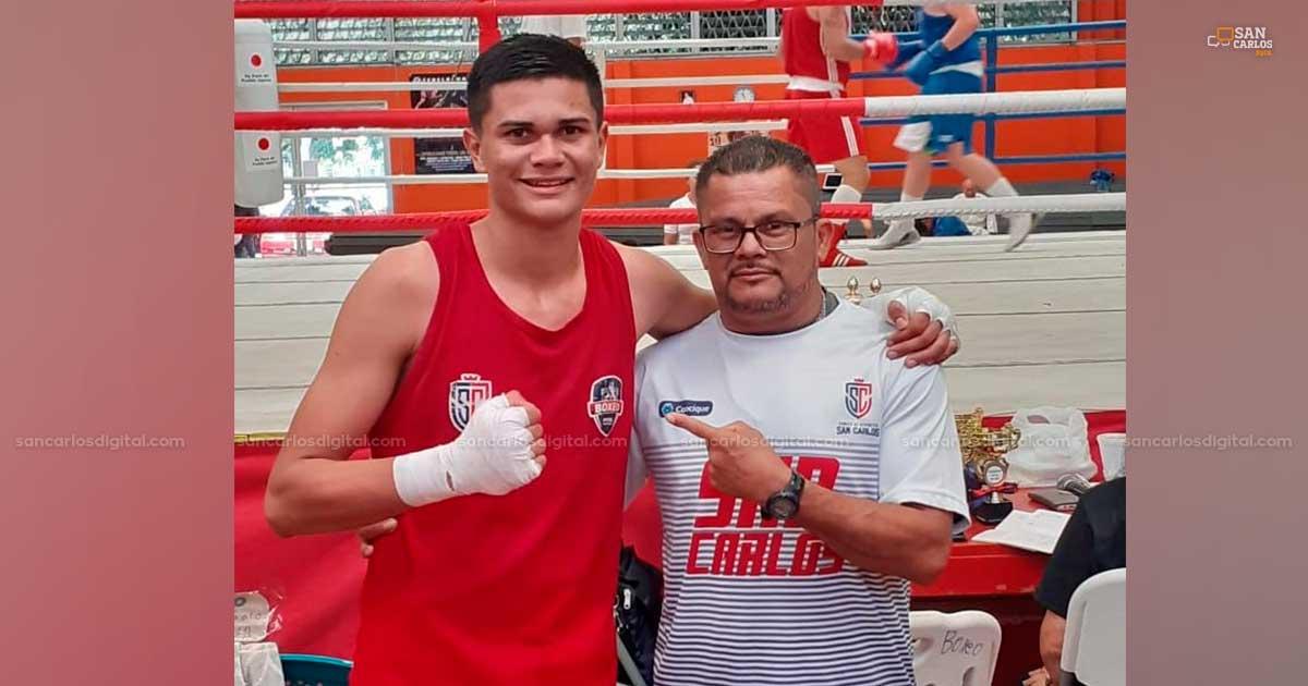 Sancarleño es campeón nacional en torneo de Boxeo - San Carlos Digital